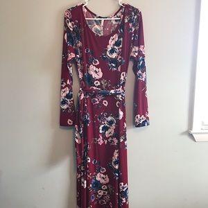 NWT Pinkblush maxi dress